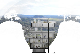 Elbberge Projektstudie Architekt Schulz