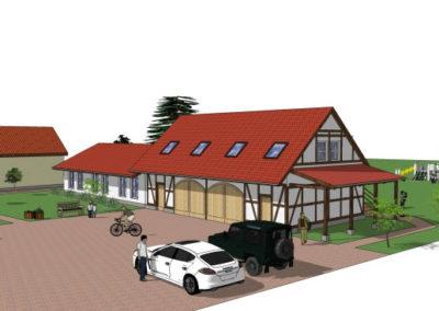 Neu- und Ausbau von 9 Ferienwohnungen in Briesensee - Architekt Reinhard D. Schulz