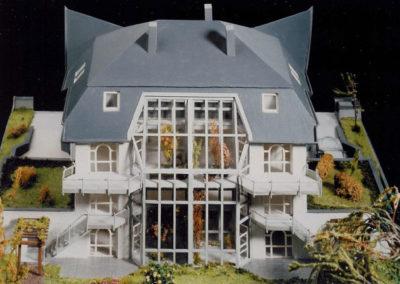 Maisonttewohnungen-Modell