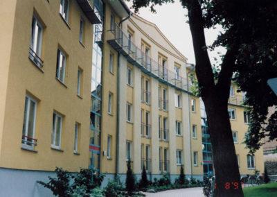 Freienwalde Wohnhaus-Eingangsseite