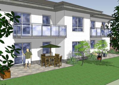 Mehrfamilienhaus in Lübben - Planung Reinhard D. Schulz