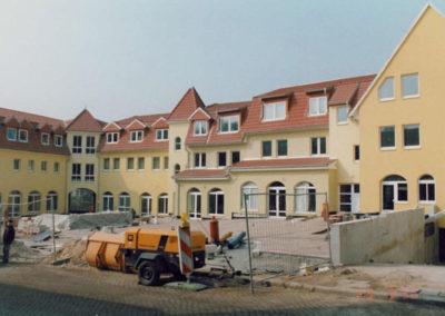 Neubau von Geschosswohnungen, Läden und Tiefgarage im Zentrum von Bad Freienwalde - Architekt Reinhard D. Schulz
