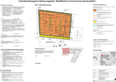 Bebauungsplan-Mobilheime