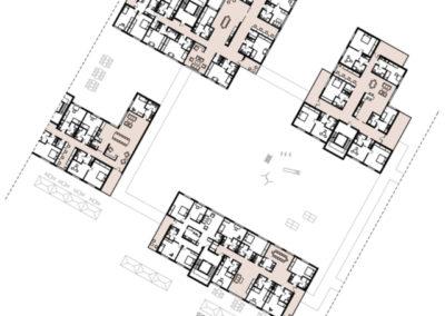 Clusterwohnungen-Erdgeschoss