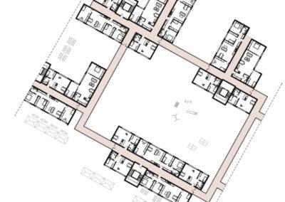 Clusterwohnungen-Obergeschoss