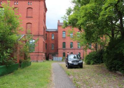 Gymnasium-Franzburg-Seiteneingang